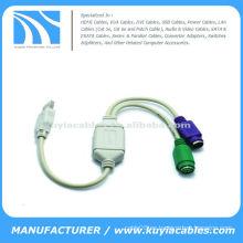 Cable convertidor ps2 a usb
