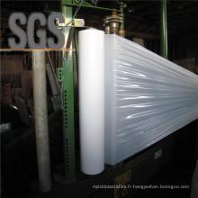 Film d'ensilage anti-UV blanc LLDPE soufflé