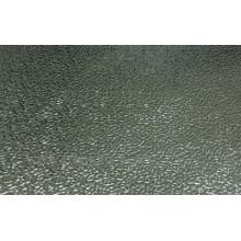 Feuille / bobine de stuc gaufrée