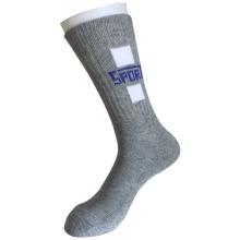 Halbe Kissen Baumwolle Mode Outdoor Sport Logo Socken (JMCOD01)