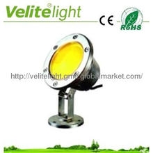 VM-A002 LED pool light, 9W,IP65 above,AC12V/24V,  green light