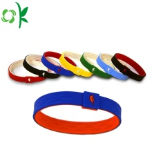 Universal Debossed Balance Silicone Wristbands for Women
