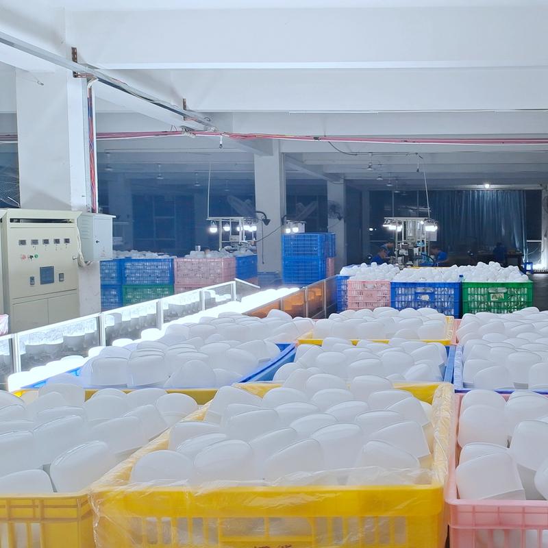 Led T Bulb Factory Line Jpg