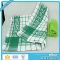 Hot selling 100% cotton yarn dyed jacquard checks dishcloth