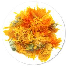 Польза Для Здоровья Сушеной Травы Календула Лекарственная, Сушеные Лепестки Календулы Цветочный Чай