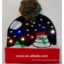 16SLY103 knit LED christmas beanie