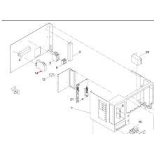 Panasonic SMT Relais für Sp60p-M Bildschirm Drucker Maschine (KXFP6CJAA00)