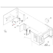 Relé Panasonic SMT para a máquina impressora de tela Sp60p-M (KXFP6CJAA00)
