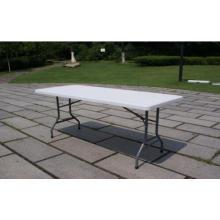 6 pies de mesa de moldeo por soplado de HDPE plegable