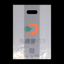 Transparent Food Die Cut Plastic Bag
