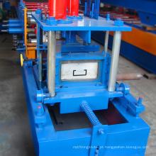 Maquinaria eficiente alta do material de construção c máquina de rolamento da placa de aço do purlin