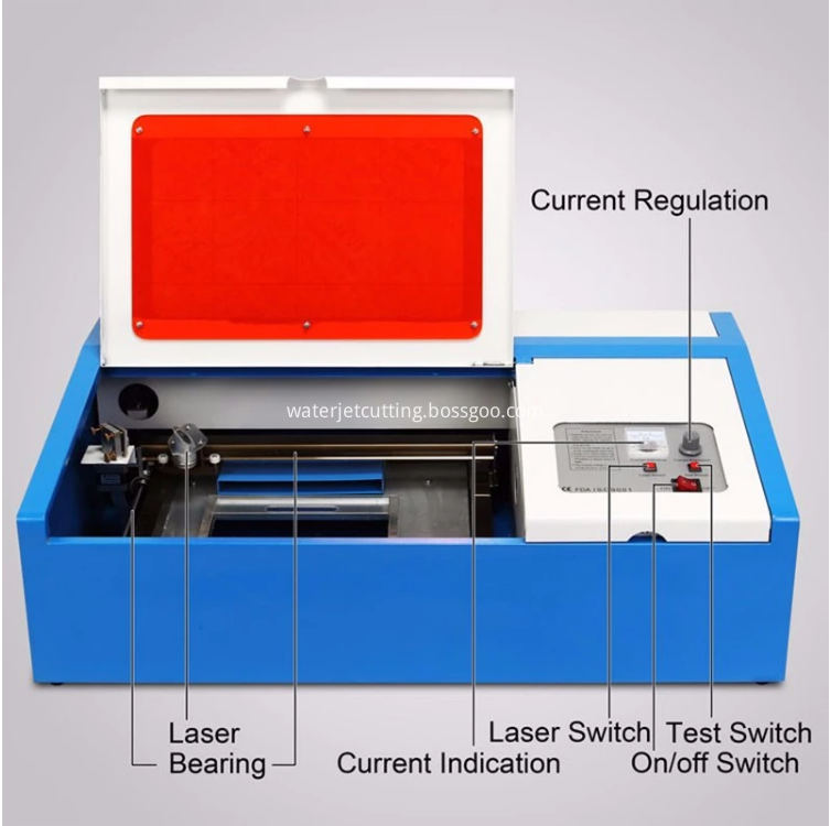 40W LASER CUTTING MACHINE 1
