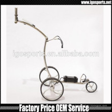 new electric titanium golf trolley