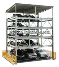 lift and sliding carports for car puzzle parking project