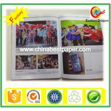 Papel de arte / papel de revista / Skid Embalagem 90lbs Papel Brilhante