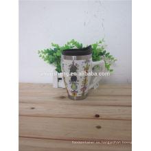 nuevos productos 2015 producto innovador promocional taza de cerámica, taza de café de cerámica
