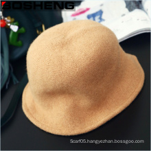 New Style Women Vintage Simple and Fashionable Soft Wool Hat