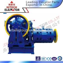 Máquina de tração de elevador / Máquina de engrenagem / carga de 1000 kg