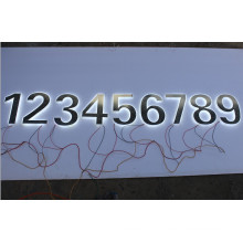 Wholesale Illuminated Number Signs LED Window Signs