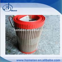 10*10mm mesh size high-temperature PTFE Teflon coated mesh conveyor belt
