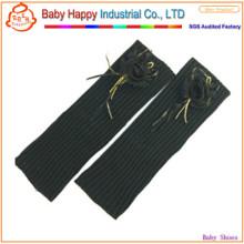 Оптовые черные гетры для новорожденных