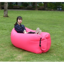 Air Filling and Nylon Fabric Inflatable Sleeping Bag