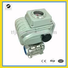 Válvula de bola motorizada de motor de par grande del actuador CTB-100