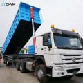 Customized 12 Wheels Hydraulic Lifting Dump Semi Trailer