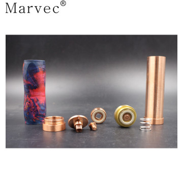 Marvec Stable Wood outer pipe vape mod mekanikal