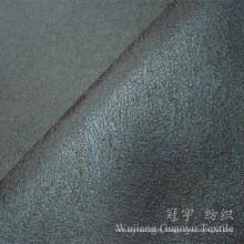 Foil Print Polyester Suede Leather Nubuck Sofa Fabrics