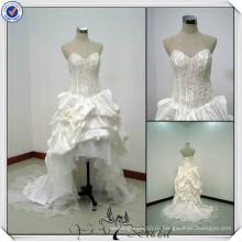 JJ0046 милая Стойка дизайнер Короткая длинная спина свадебные платья