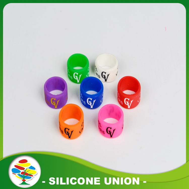 Wide Silicone Printed Ring