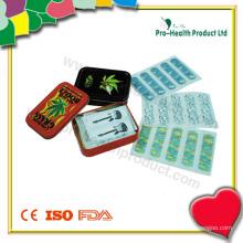 Pansements adhésifs dans une boîte en fer blanc (PH4359)