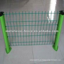 PVC pintado valla post