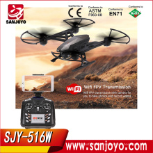 JXD 516W HD Camera Wifi FPV 2.4G 4CH 6-axis Gyro RC Quadcopter RTF with Altitude Hold Headless Mode RC Drone