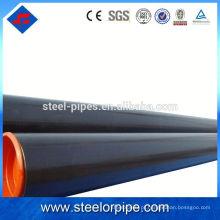 Bom preço 2,5 polegadas de aço carbono sem costura tubo verniz tratamento de superfície