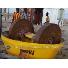 China Wet Pan Mill für Gold / Edge Runner Nassmühle