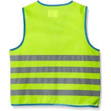 Жилет безопасности для детей с 4 светоотражающими полосами