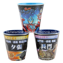 Two Tone Melamine Cup with Logo (CP007)