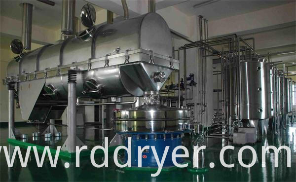 Vibrating Fluid Bed Drying and Cooling Machine for Grains
