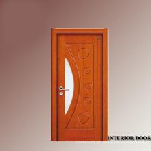 Porta de madeira francesa porta francesa cereja de decoração de interiores