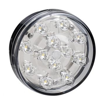 E4 Round White Truck Reverse Lights