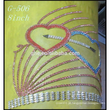 Custom tiara coroa tiara dia dos namorados da coroa tiara