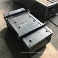 Футеровка желоба конвейера с накладкой из карбида хрома