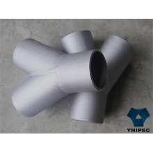 Camiseta de montaje de tubería de acero inoxidable 316 con CE