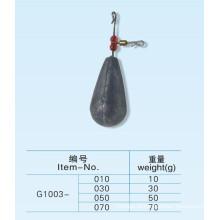 Qualidade superior carpa pesca chumbo sinker