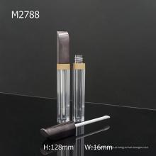 Elegante forma única de plástico Moda Empty Lip Gloss Container