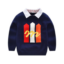 Primary School Uniform Kids Baby Boy Sweater Designs Pictures of Types of Knit or Crochet Clothing