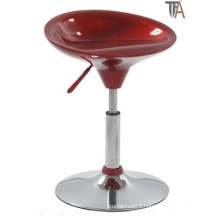 Simple Design Red ABS Material for Bar Stool