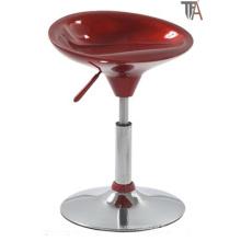 Simples Design ABS Material Vermelho para Bar Stool